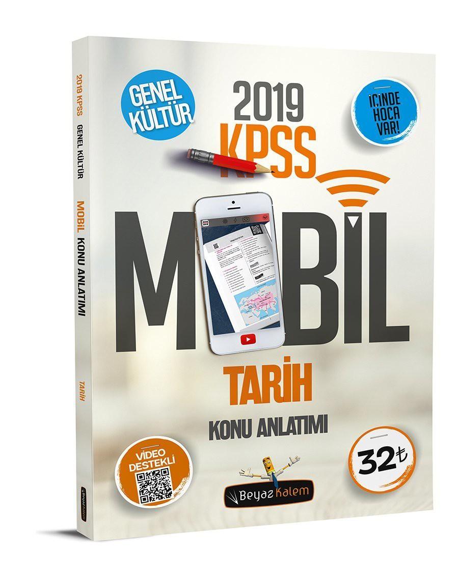 2019 Kpss Tarih Mobil Konu Anlatımı Beyaz Kalem Yayınları Hızlı