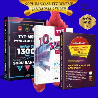 TYT Soru Bankası ve Jandarma Ol Rehber (Jandarma Olmak İçin Gerekli Olan Her Şey) 2021 Alımları İçin Özel Kaynak