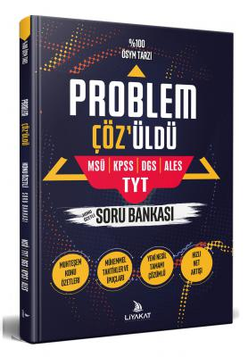 Problem Çözüldü, Konu Özetli Problemler Soru Bankası, 2021 Özel Hazırlık